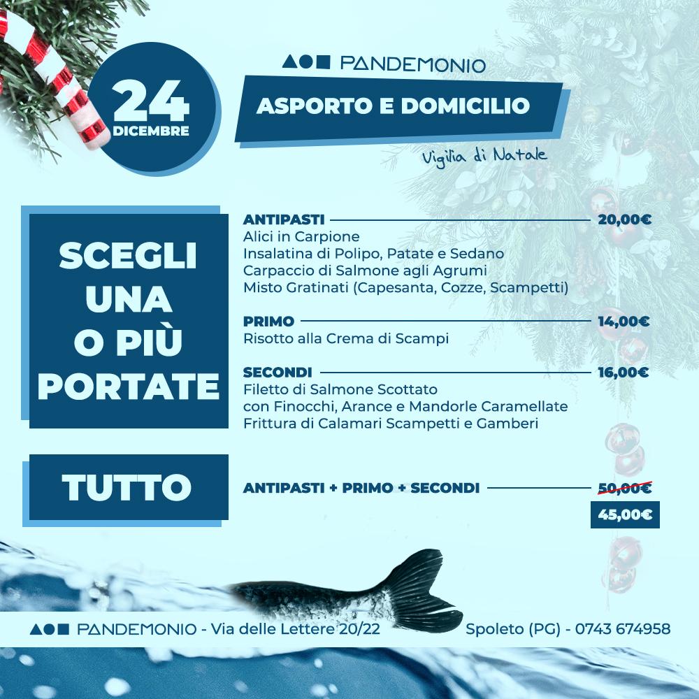 Pandemonio 24 Dicembre 2020